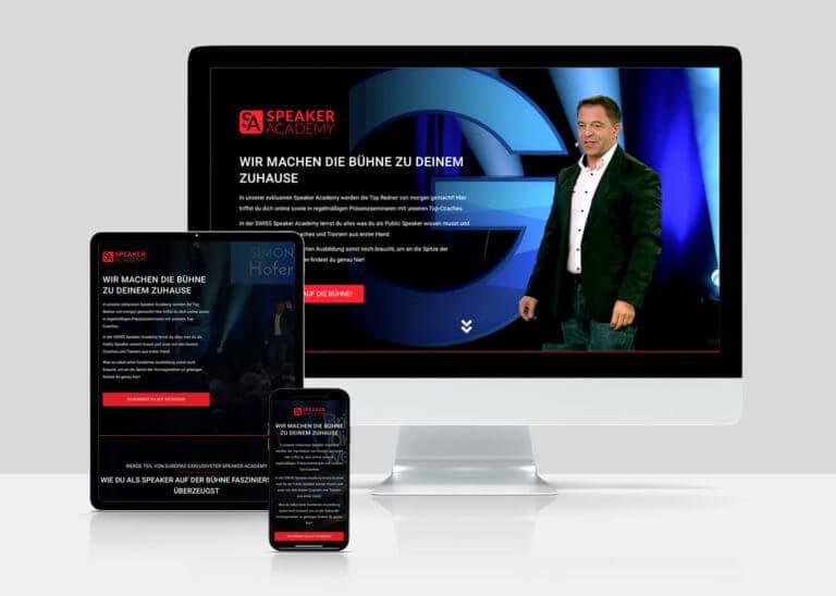 Simon Hofer - Swiss Speaker Academy