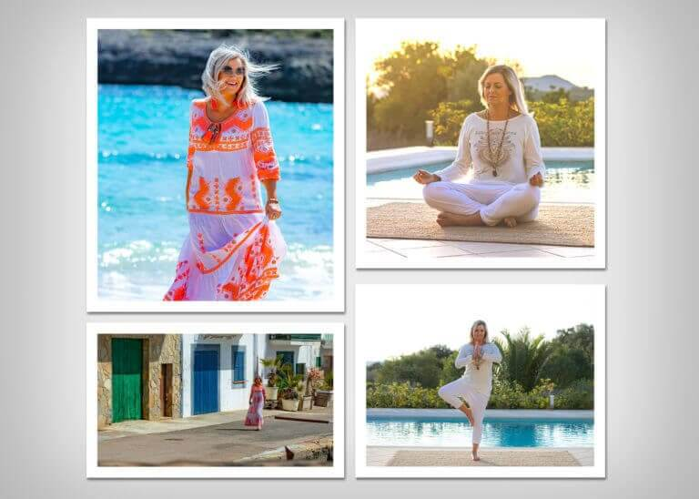 Diana König - Fotoshooting in Porto Colom (Spanien)